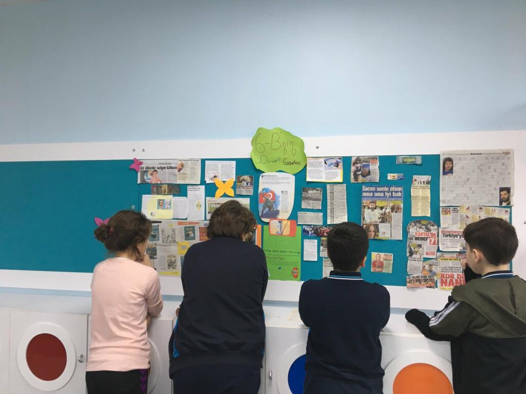 Pendik İlkokulu ve Ortaokulu | Duvar Gazetelerimiz
