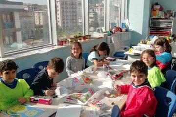 İlkokullarda Vitray Çalışmalarımız Başlamıştır | Pendik İlkokulu...