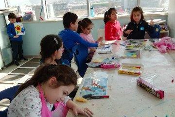 İlkokullarda Vitray Çalışmalarımız Başlamıştır
