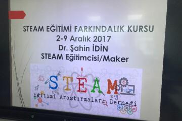 Steam Eğitimi Farkındalık Kursu