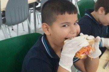 İlkokullar Gastronomi Atölyesinde