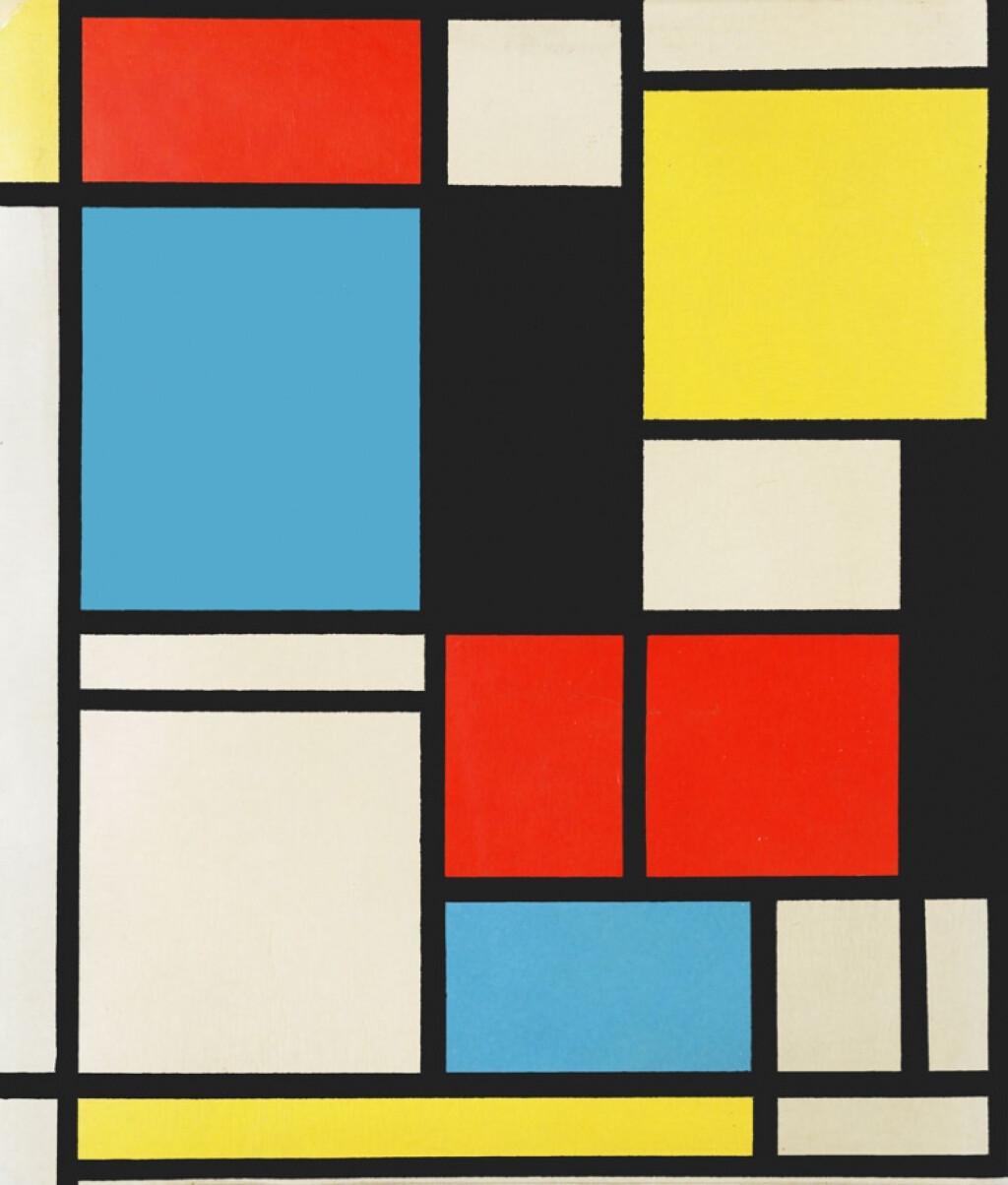 Mondrian Kompozisyonları | Pendik İlkokulu ve Ortaokulu | Özel Ok...