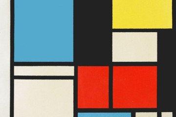 Mondrian Kompozisyonları | İstanbul Pendik İlkokulu ve Ortaokulu...