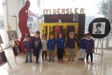 10 Kasım Atatürk'ü Anma Haftası - Görsel Sanatlar Dersi | Pendik...