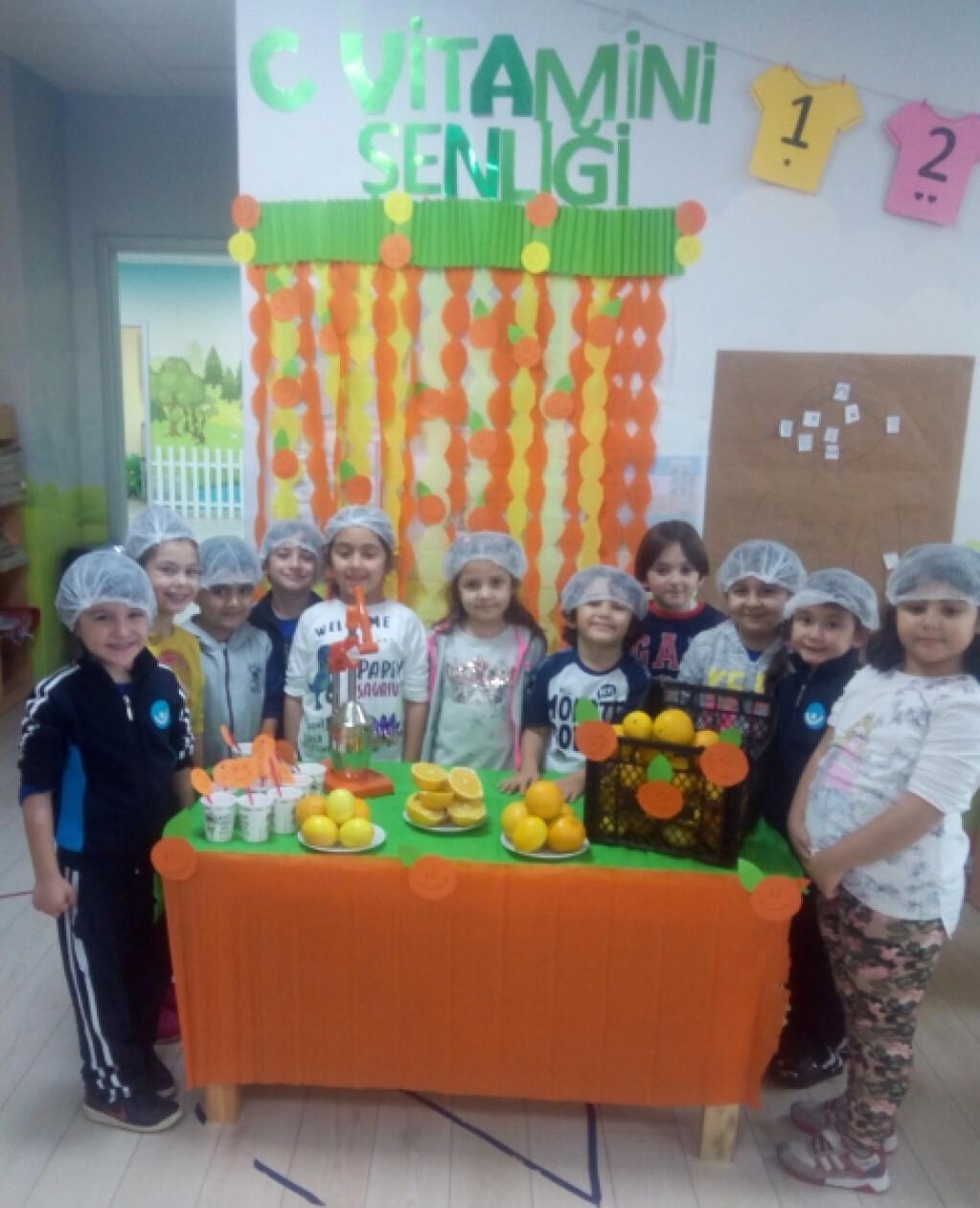 C Vitamini Şenliği | Pendik İlkokulu ve Ortaokulu | Özel Okul