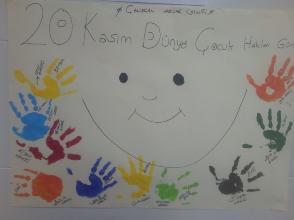 20 Kasım Dünya Çocuk Hakları Günü | İstanbul Pendik İlkokulu ve O...