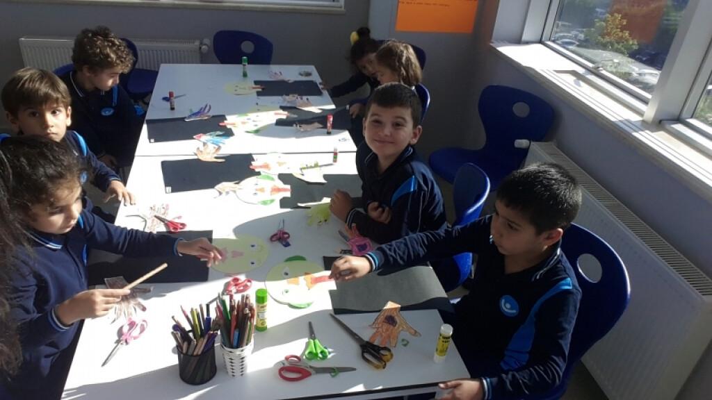 Görsel Sanatlar Dersinde 5 Duyu Organımız | Pendik İlkokulu ve Or...