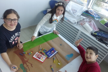 Pastel Boyalar İle Grup Çalışmamız | Pendik İlkokulu ve Ortaokulu...