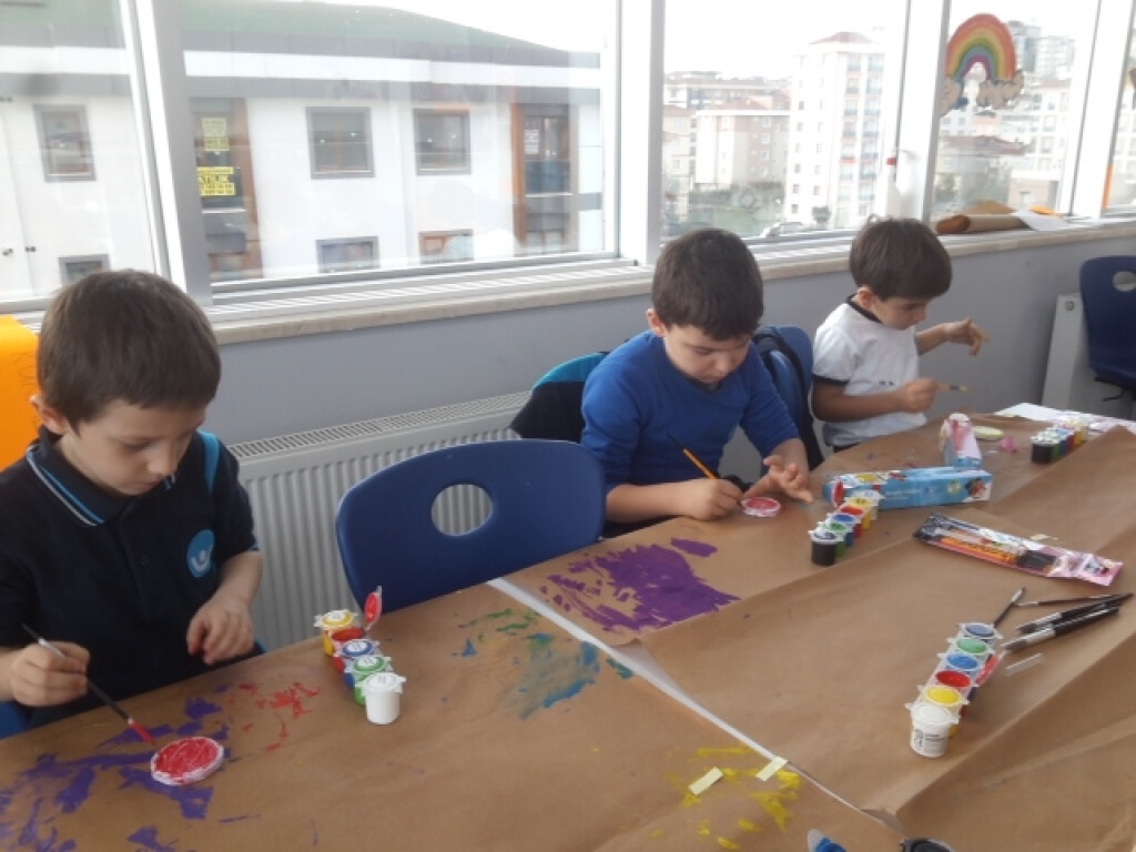 Stone Art Sanatı İle Kutlu Doğum Çalışmamız | Pendik İlkokulu ve...