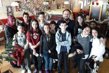 "7 - A Sınıfı ""kitap Cafe""de   Pendik İlkokulu ve Ortaokulu   Özel..."