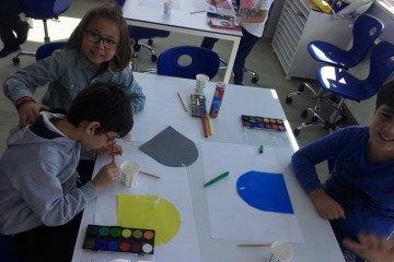 İlköğretimde Sulu Boya Çalışmamız   Pendik İlkokulu ve Ortaokulu...