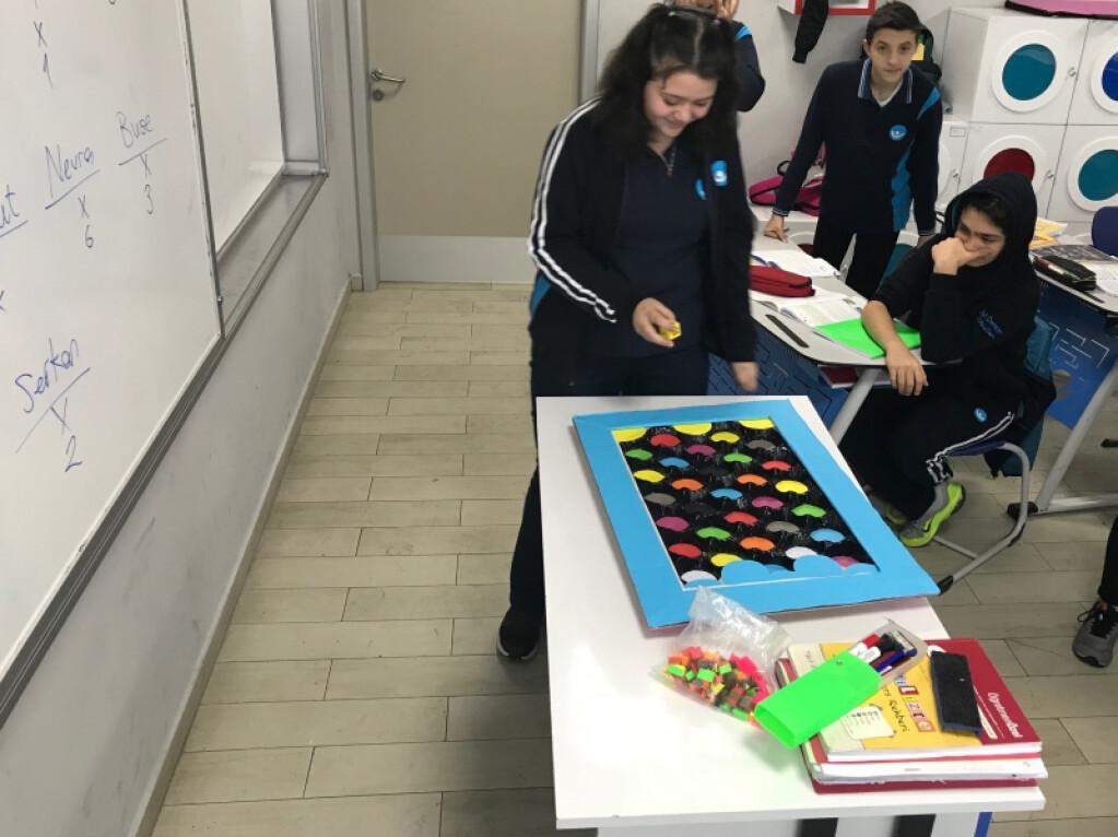 8.sınıf Öğrencilerimiz Kelimeleri Pekiştiriyor | Pendik İlkokulu...