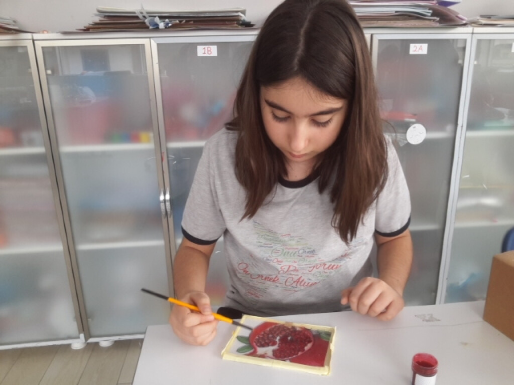 Vitray Çalışması | İstanbul Pendik İlkokulu ve Ortaokulu | Özel O...