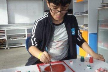 Vitray Çalışması