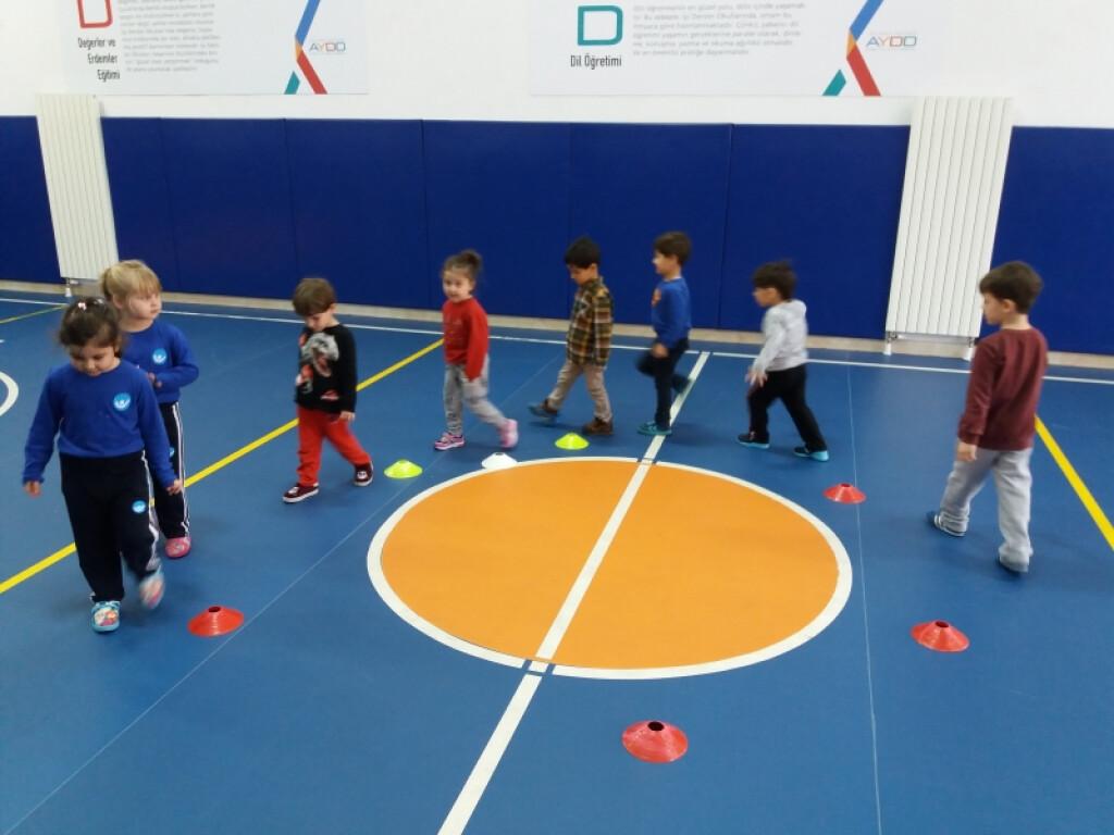 Anaokulumuzda Oyunlar İle Öğreniyoruz | İstanbul Pendik İlkokulu...