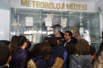 5. Sınıf Öğrencilerimizle Meteoroloji Müdürlüğüne Gezi Düzenledik