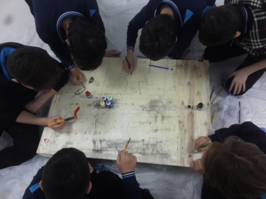 Paletten Sedir Yapıyoruz | Pendik İlkokulu ve Ortaokulu | Özel Ok...