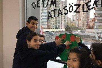 Deyim ve Atasözleri Köşemizi Oluşturduk | Kayseri Alpaslan Ortaok...
