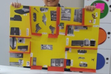 İngilizce Dersimizde Rooms And Furnıture Konusunu İşledik.