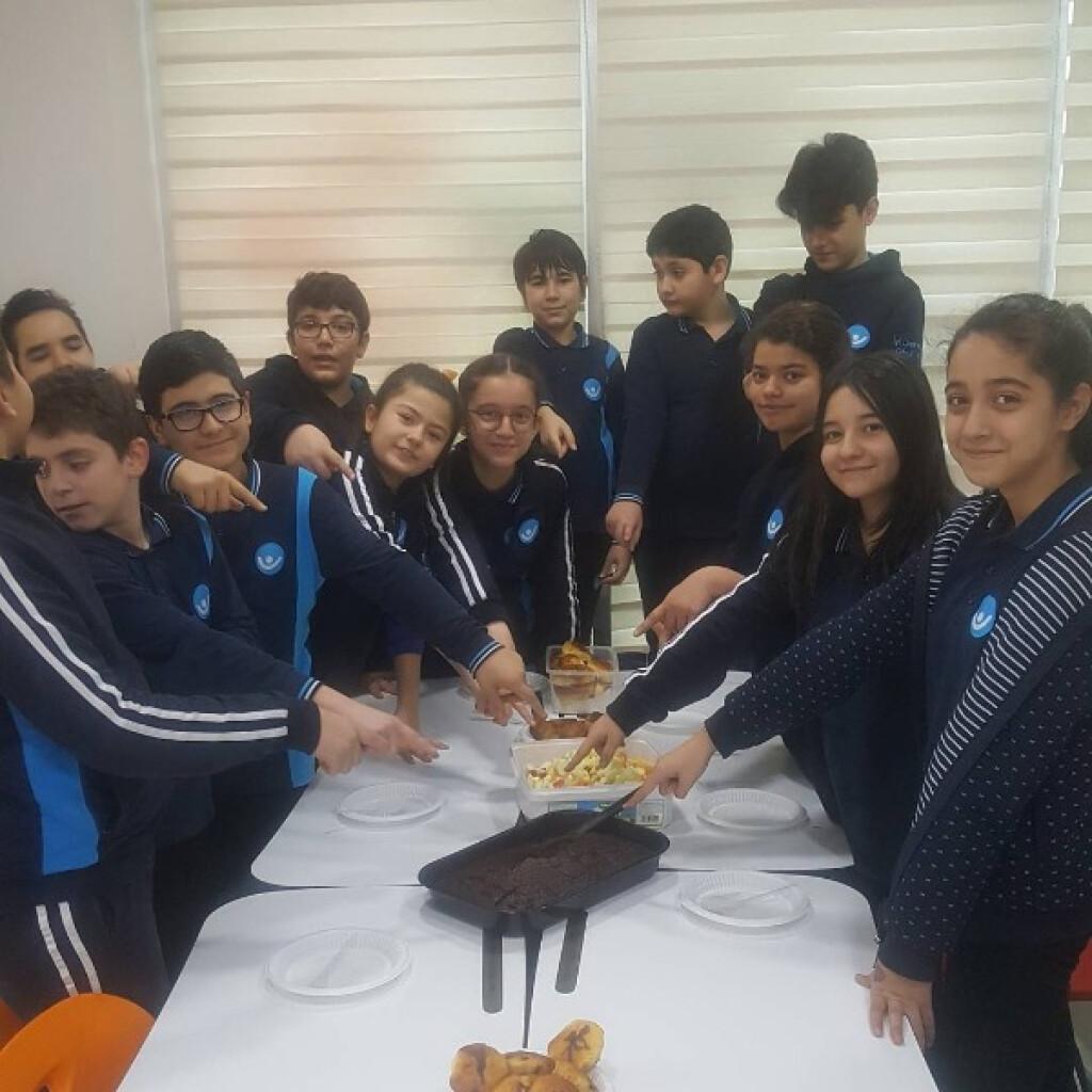 İngilizce Dersimizde Food Konusunu İşledik. | Kayseri Alpaslan Or...