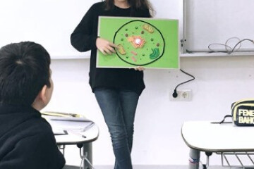 Fen Bilimleri Dersimizde Hücre Konusunu İşledik.