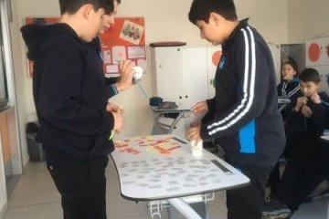 Türkçe Dersimizden Kelime Oyunu Etkinliğimiz