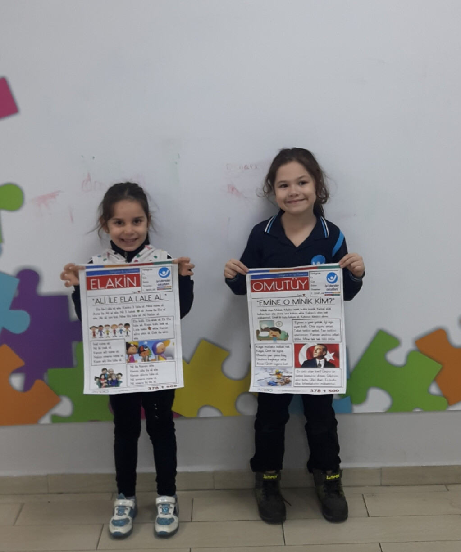 'artık Gazete Okuyoruz' | Pendik İlkokulu ve Ortaokulu | Özel Oku...