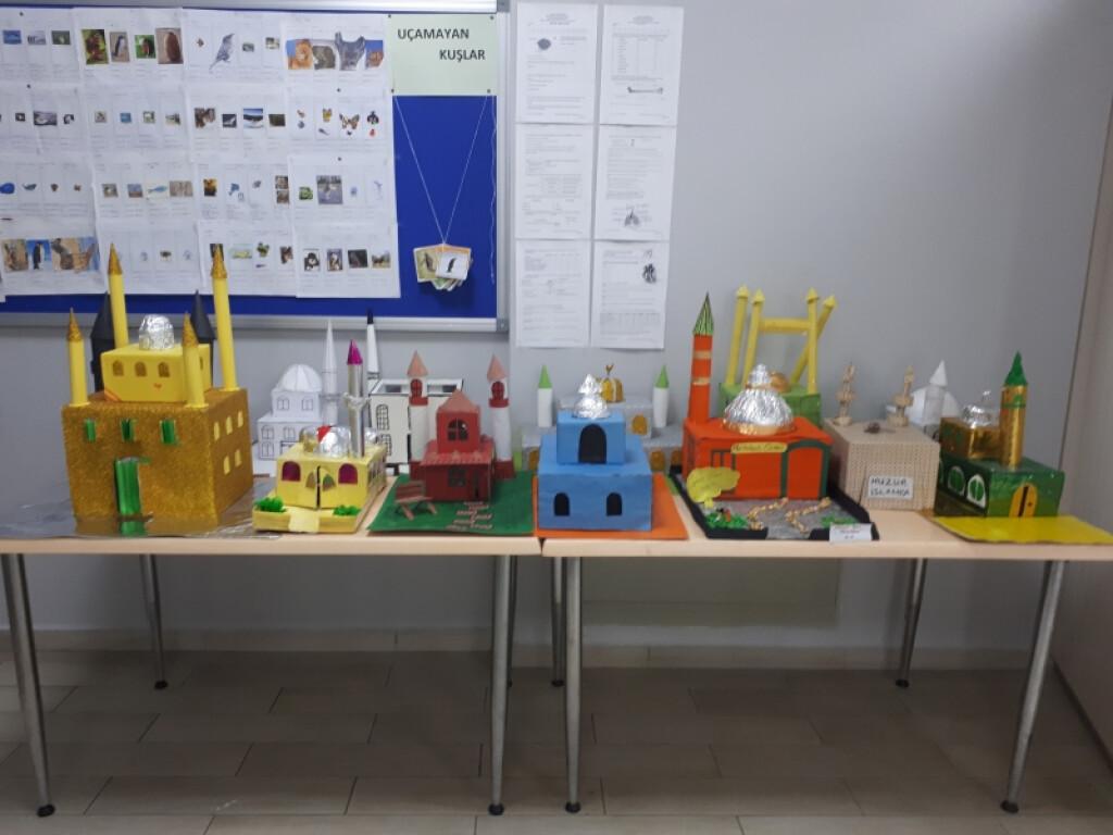 Camii Çalışmalarımız | Pendik İlkokulu ve Ortaokulu | Özel Okul