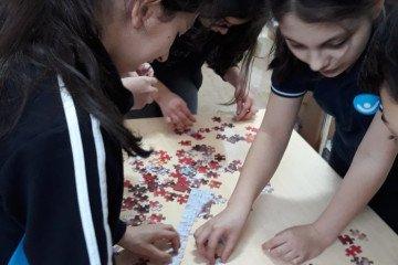 Puzzle Tamamlamada İddialıyız | Pendik İlkokulu ve Ortaokulu | Öz...