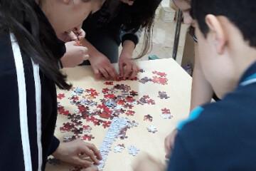 Puzzle Tamamlamada İddialıyız