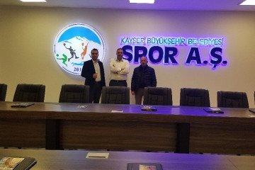 Kayseri Büyükşehir Belediyesi Spor A.ş Genel Müdürlüğünü Ziyaret Ettik.