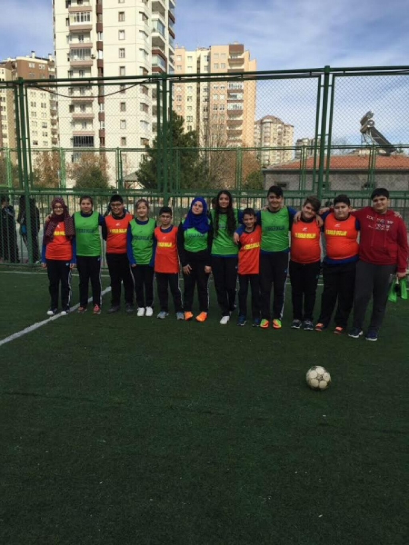 Sınıflar Arası Futbol Turnuvası | Kayseri Alpaslan Ortaokulu | Öz...