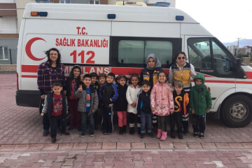 112 Acil Servis Okulumuzu Ziyaret Etti.