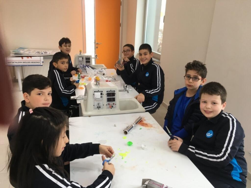 Fen Bilimleri: Sis Bombası Deneyi | Kayseri Alpaslan Ortaokulu |...