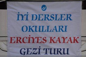 İyi Dersler Okulları Olarak Erciyes'e Gezi Gerçekleştirildi.