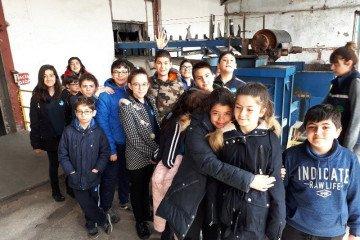 Kayseri Şeker Fabrikası Gezimiz