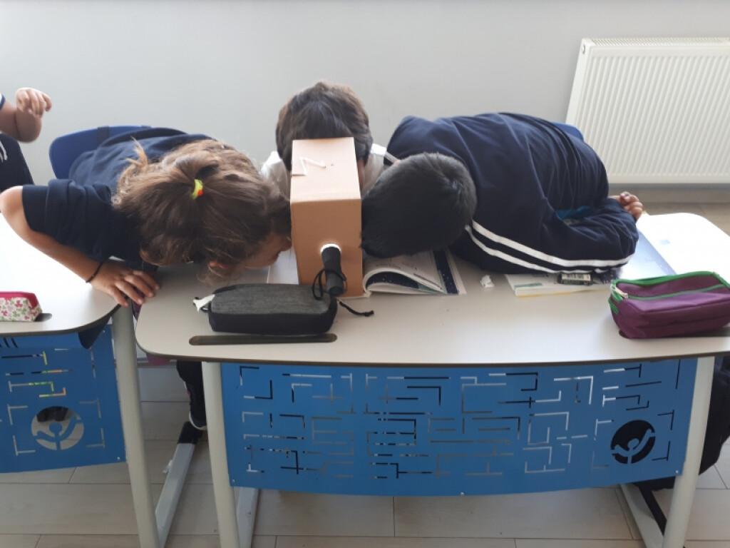 Ay'ı Gözlemliyoruz | İstanbul Pendik İlkokulu ve Ortaokulu | Özel...