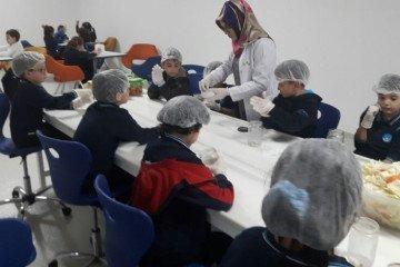 İyi Dersler Okullarının Minik Şefleri İş Başında