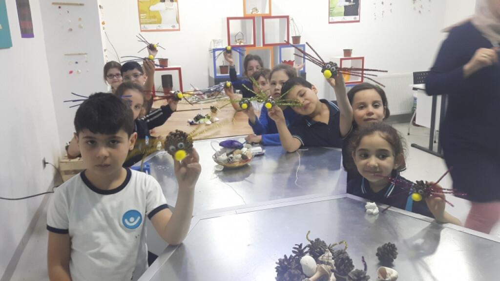 İyi Dersler Okullarının 'örümcek' Etkinliği | Pendik İlkokulu ve...