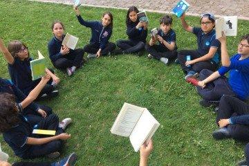 Öğrencilerimiz Doğayla İç İçe Kitap Okumanın Keyfini Çıkarttılar.
