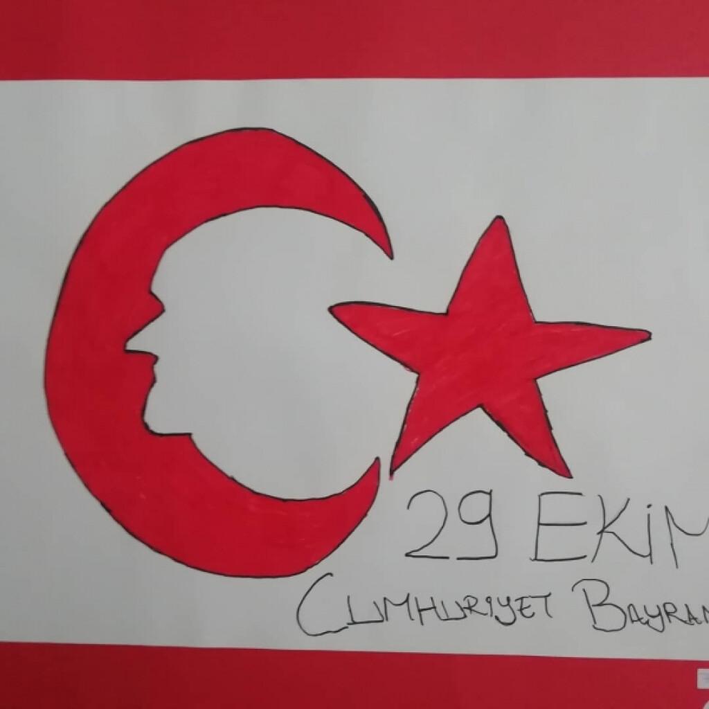 29 Ekim Cumhuriyet Bayramı Resim Sergisi | Pendik İlkokulu ve Ort...