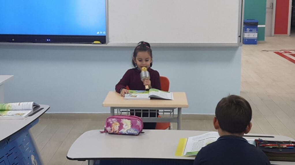 2 - A Sınıfı Öğrencilerinin Mikrofon Heyecanı | Pendik İlkokulu v...