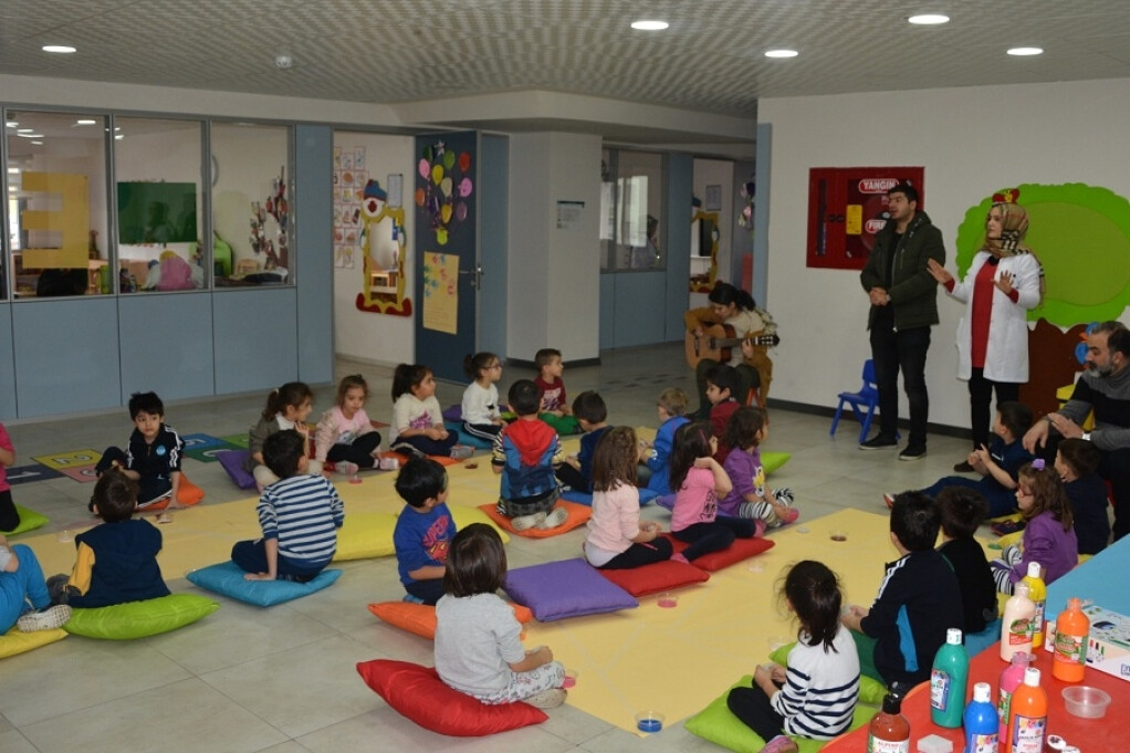 Minik Ressamlar | Kayseri Konaklar İlkokulu ve Ortaokulu | Özel O...