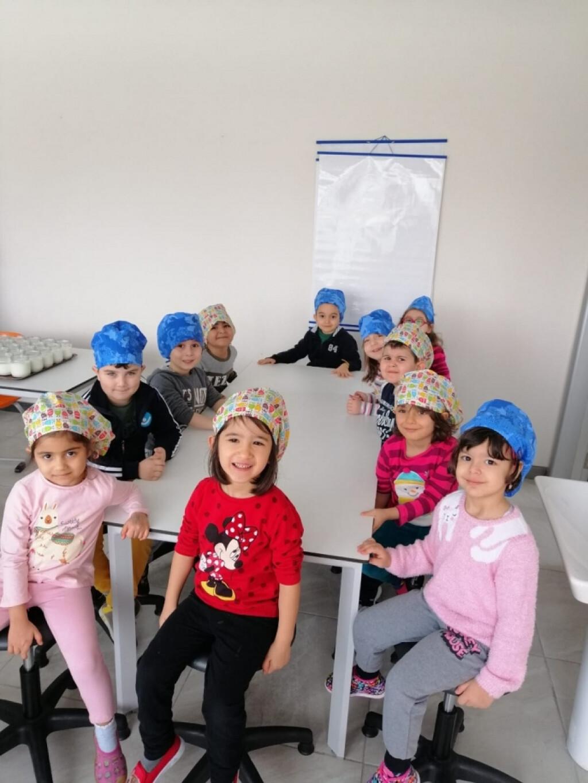 Okul Öncesi Grubu Gastronomi Atölyesinde | Kayseri Konaklar İlkok...