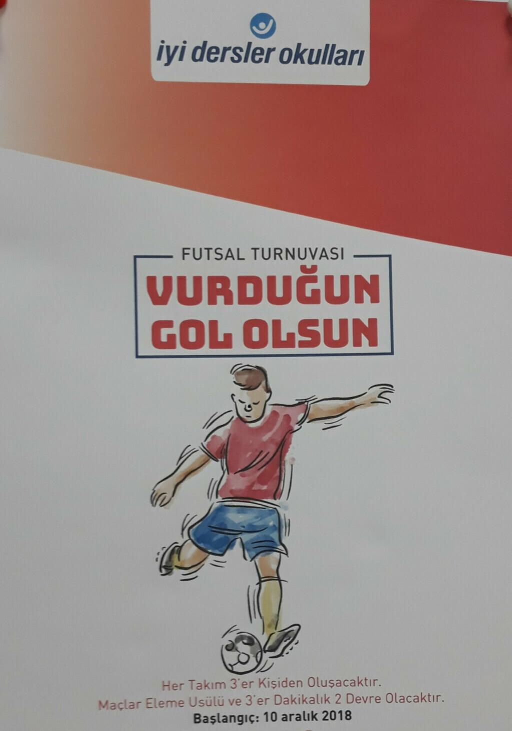 Futsal Turnuvamız Başlıyor | Pendik İlkokulu ve Ortaokulu | Özel...