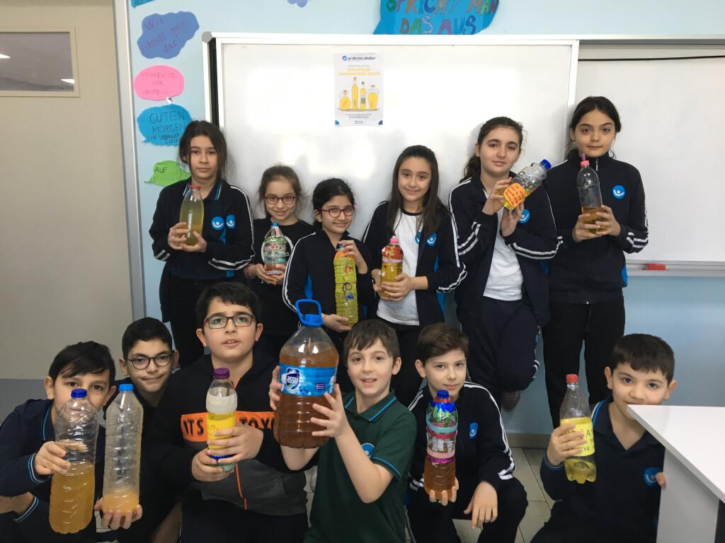 Atık Yağlar Lavobaya Değil Şişeye | İyi Dersler | Özel Okul