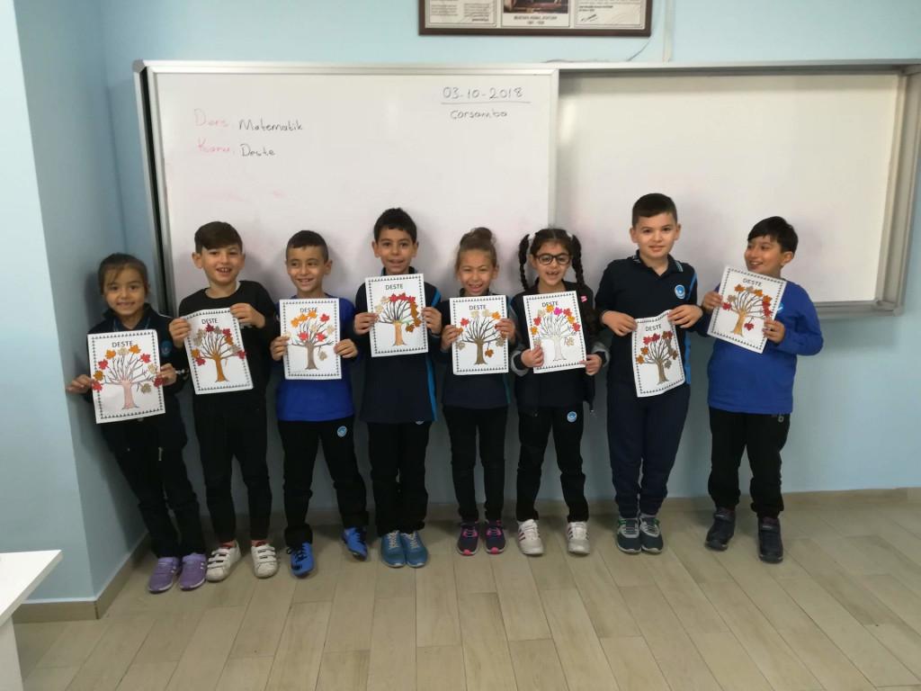 2-B Sınıfı Deste Çalışması | Pendik İlkokulu ve Ortaokulu | Özel...