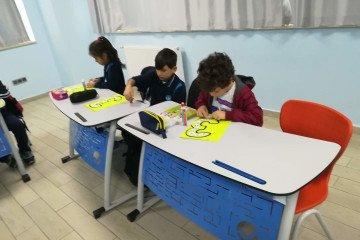 2-b Sınıfı Ritmik Sayma Çalışması