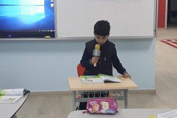 2-A Sınıfı Öğrencilerinin Mikrofon Heyecanı:))) | İstanbul Pendik...