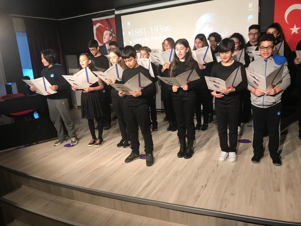10 Kasım Atatürk'ü Anma Programı   Pendik İlkokulu ve Ortaokulu  ...